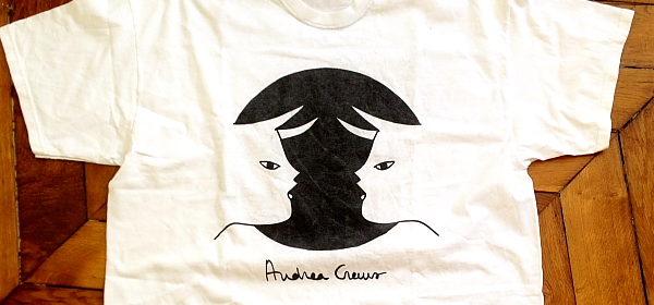 Gewinne 2 Designer-T-Shirts von Andrea Crews