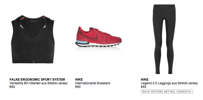 Net-a-porter Falke Nike Tights Modepilot