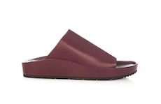 Baleniciaga Schlappen Bordeaux Schuhe Modepilot.com