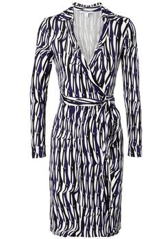 Diane von Furstenberg wrap dress Wickelkleid Modepilot