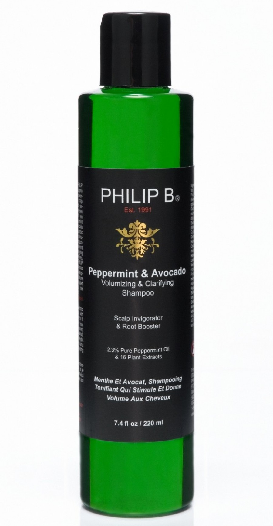 PB Peppermint & Avocado Shampoo 220ml