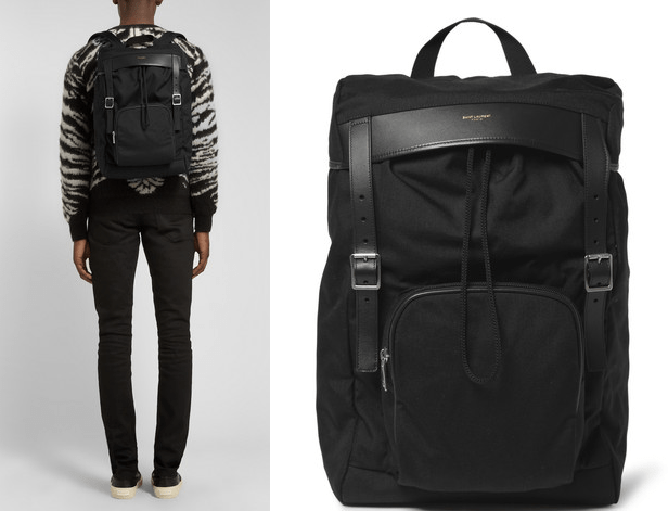 Saint Laurent backpack Rucksack Modepilot