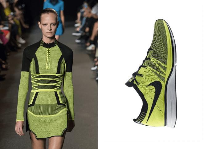 Alexander Wang Flyknit Nike 2015 dress Modepilot
