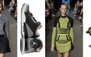 Alexander Wang Modepilot 2015 Sneaker Nike Flyknit Air Jordan