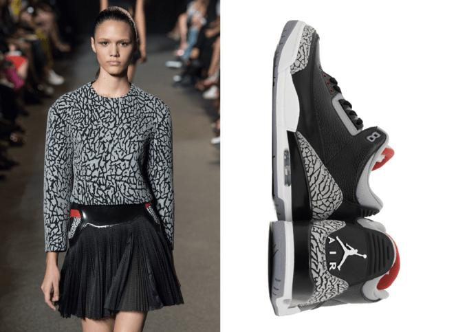 Alexander Wang Nike Air Jordan Bred III Modepilot