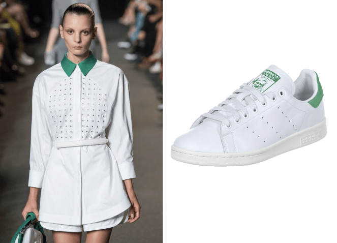 Alexander Wang Stan Smith Adidas Modepilot sneaker dress