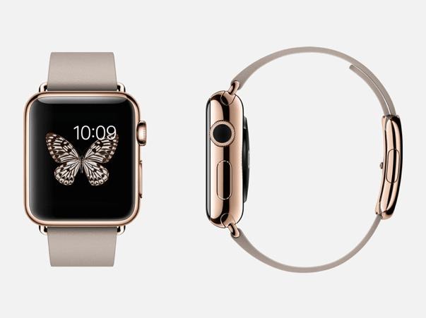 Apple Watch Rosé Gold Modepilot