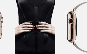 Apple Watch rote Nägel leicht lackiert Modepilot