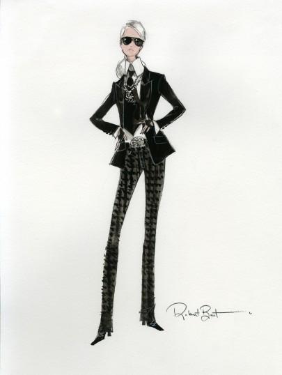 Barbie Lagerfeld_KARLsketch