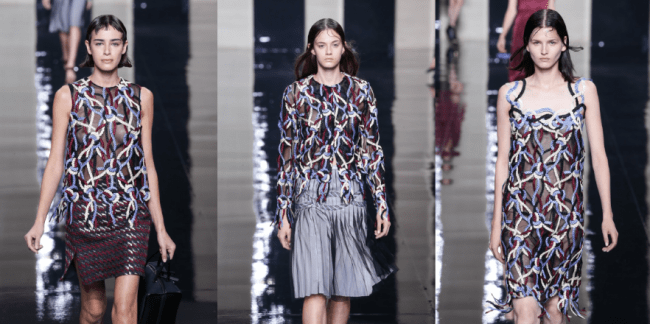 Christopher Kane Nautical 2015 summer marine Modepilot