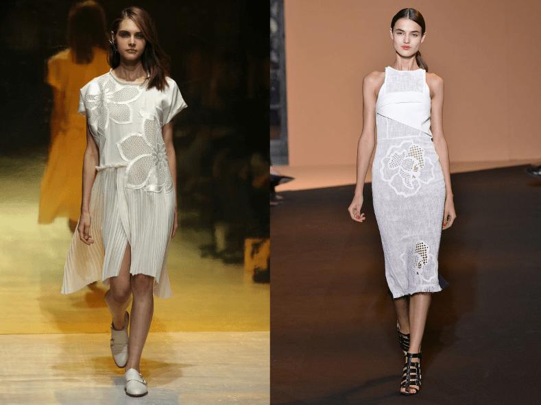 Kaviar Gauche Roland Mouret Blüten Sommertrends 2015 Paris Modepilot