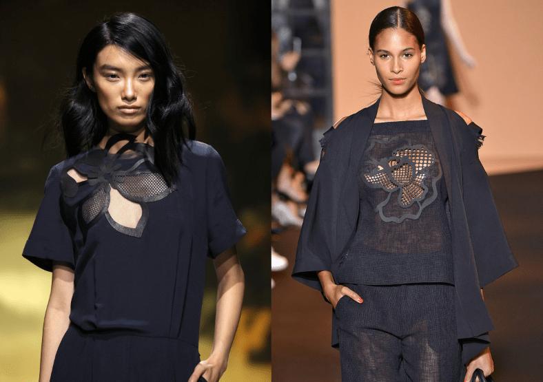 Kaviar Gauche Roland Mouret Summer 2015 Sommer Blumen Trends Modepilot