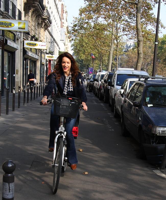 Paris-Fashionweek-Modepilot-Fahrrad-Kathrin Bierling