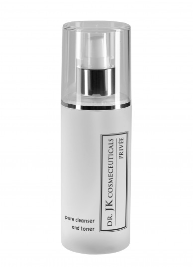 pure cleanser and toner von DR. JK COSMECEUTICALS PRIVÉE