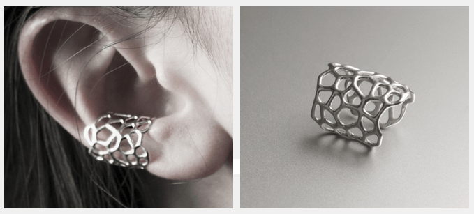 Earcuff Iza LimeMakers Cell Modepilot