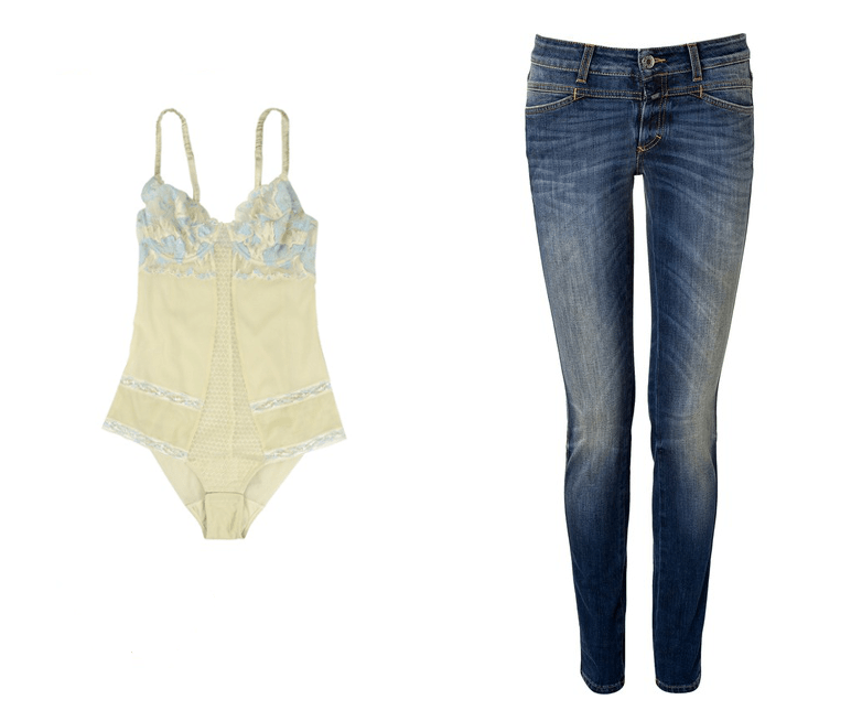 Body La Perla Yoox Jeans Closed Modepilot