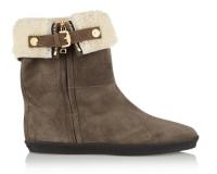 Burberry Ankle Boots Veloursleder Modepilot