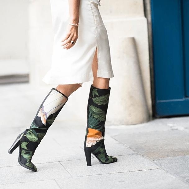 Carine Roitfeld Hermès boots Adam Katz Sinding
