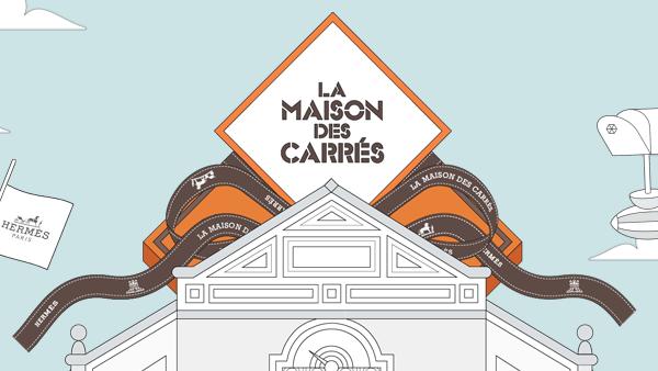 Hermès hat jetzt eine 'Maison des Carrés'