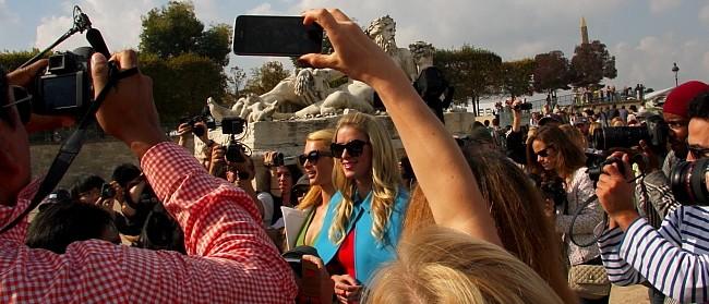 Promi-Paris Hilton 2-Modepilot