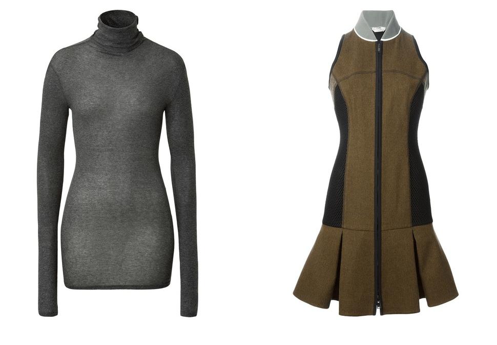 Rollkragenpullover American grau Stylebop Fendi Kleid Farfetch Modepilot Add ons