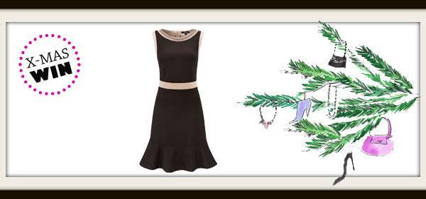 Weihnachtsgewinnspiel: Cocktail-Kleid von Comma