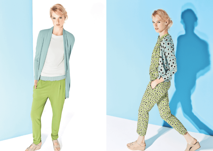 Escada Sport green blue Leo Jumpsuit Modepilot