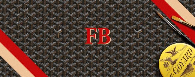 Goyard FB Initials Modepilot