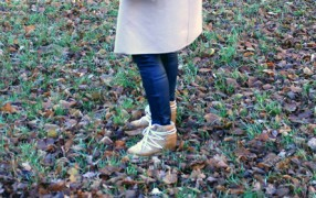 Étoile Isabel Marant Nowles Winterstiefel Wedge bequem cosy camel