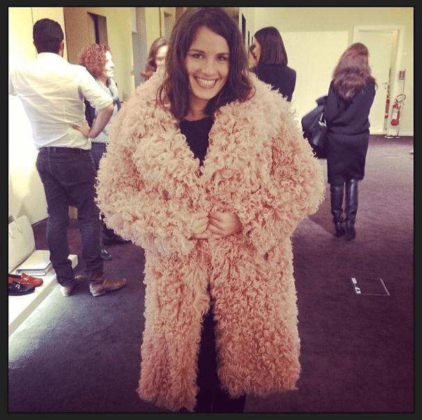 Isabelle Braun pink Gucci Modepilot