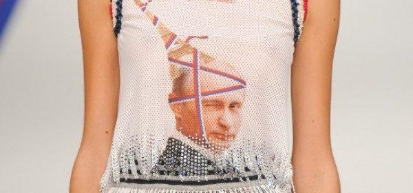 Was soll Putin auf dem Shirt, Talbot Runhof?