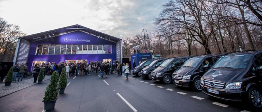 Mercedes-Benz Fashion Week Berlin Autumn/Winter 2014 in Berlin am 17.01.2014