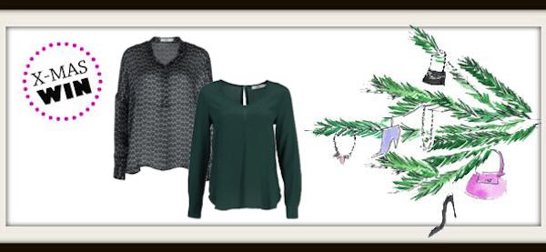 Weihnachtsgewinnspiel: drei Blusen von 0039 Italy
