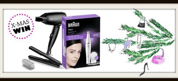 Weihnachtsgewinnspiel: Braun Hair, Style & Face