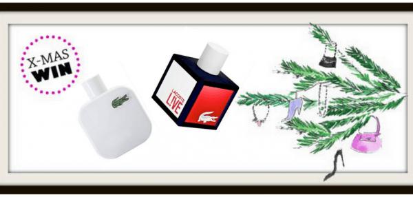 Weihnachtsgewinnspiel: Lacoste Düfte