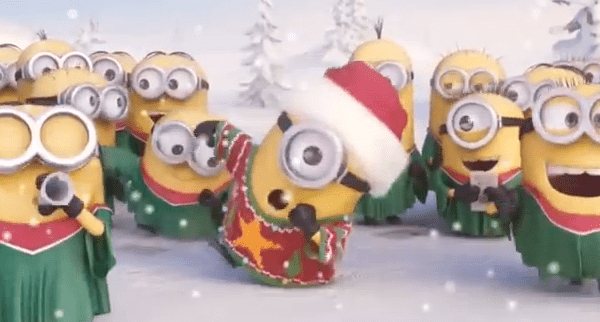 X-mas Clash: Interpretation alter X-mas-Songs (Cartier vs. Minions)