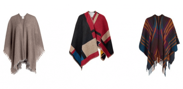 Shopping-Tipp: Winter-Ponchos
