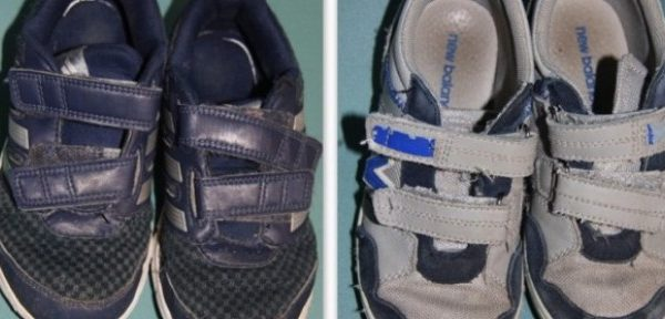 Modepiltot testet: Kindersneaker (Adidas vs. New Balance)