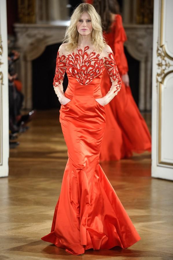 Yanina Couture: Solche Robe sehe ich in jeder Saison Dutzendmal. Überflüssig!