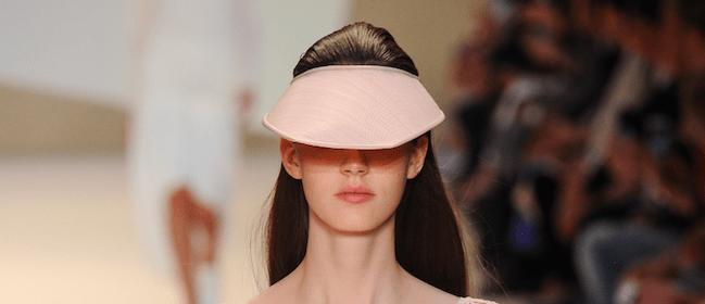 Akris Schirmmütze Trendfarben Sommer 2015 Modepilot