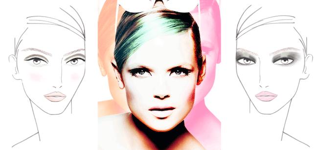 Estée Lauder Courrèges Face Charts Campaign Make-up Modepilot