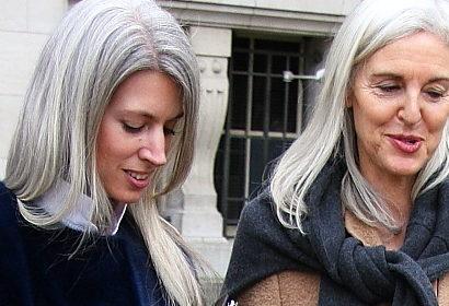 Haare rauswachsen lassen strähnchen graue Graues Haar