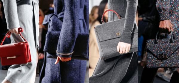 So trägt man Handtaschen also 2015