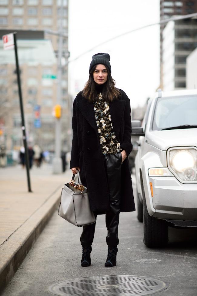 Leila Yavari, Fashion Director STYLEBOP.com NYFW FW15 Credit Adam Katz Sinding