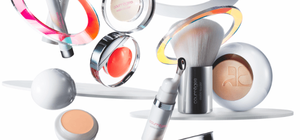 Raumkapsel Make-up von Courrèges & Estée Lauder
