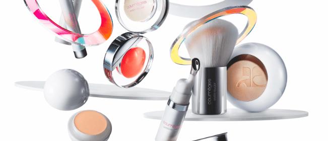 Raumkapsel Make-up Courrèges Estée Lauder 2015 Modepilot