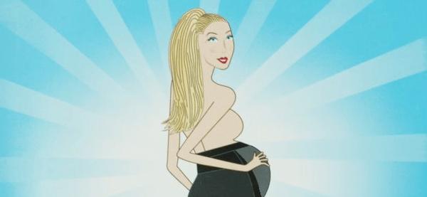 Schwangerschaftsmode, 6. bis 9. Monat