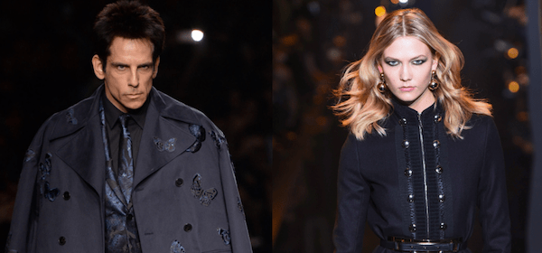 Who's got the look? Stiller vs. Kloss