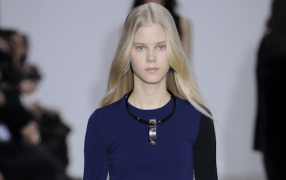 Cedric Charlier Paris Winter 2015 Paris Choker Halsreif