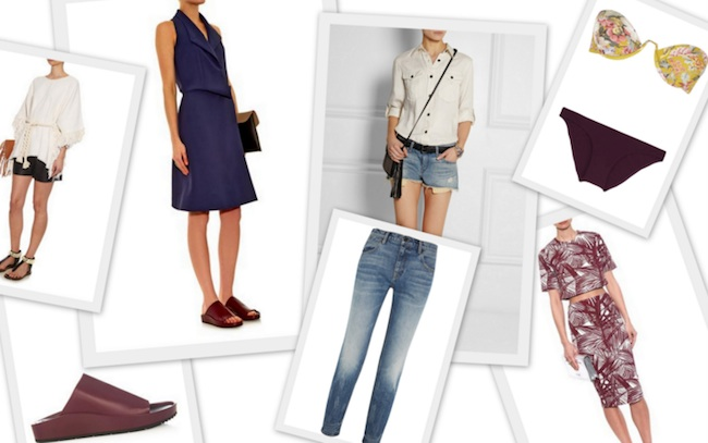 Collage 5 Dinge Modepilot Sommer 2015 Shoppingtipps Outfittipps